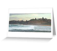Turmoil - Northern Beaches,Sydney, Australia Greeting Card