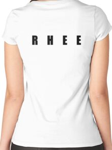 TEAM RHEE Women's Fitted Scoop T-Shirt