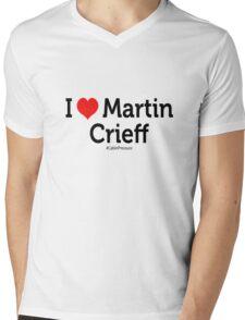 I Love Martin Crieff Mens V-Neck T-Shirt