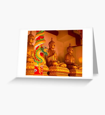 Buddha in Thailand Greeting Card