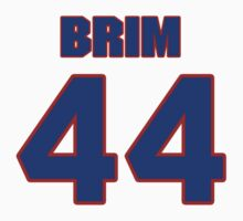 National football player Michael Brim jersey 44 by imsport