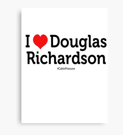 I Love Douglas Richardson Canvas Print