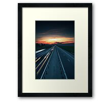 It all comes back to me. Framed Print