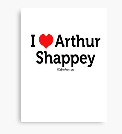 I Love Arthur Shappey Canvas Print