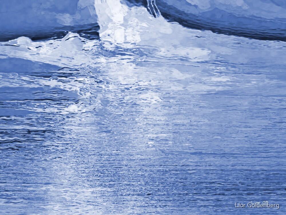 Arctic ocean by Lior Goldenberg