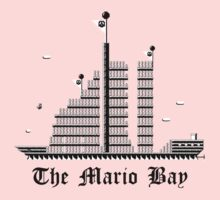 The Mario Bay One Piece - Long Sleeve