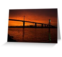 Sunset over Westgate Greeting Card