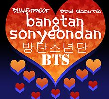 Love for BTS by lordcamelot