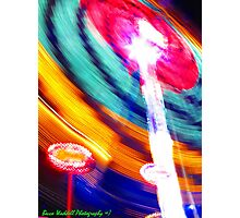 Speed in Slow Motion Photographic Print