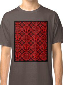 BROCADE-RED 2 Classic T-Shirt
