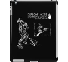 """Depeche Mode : Everything Counts 12"""" -2- White iPad Case/Skin"""