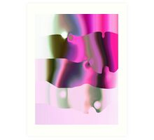 CORAL PINK Art Print
