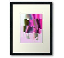 CORAL PINK Framed Print