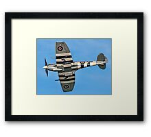 BBMF Spitfire LF.IXc MK356/21-V Framed Print
