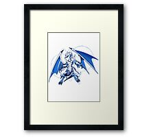 Lightpulsar Dragon Framed Print