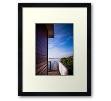 Not France Framed Print