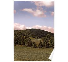 Clouds & Hills Poster