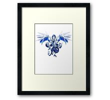 Trishula Dragon of the Ice Barrier Framed Print