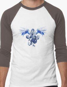 Trishula Dragon of the Ice Barrier Men's Baseball ¾ T-Shirt