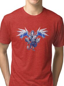 Trishula Dragon of the Ice Barrier Tri-blend T-Shirt