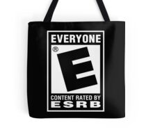 Content Rated by ESRB Tote Bag