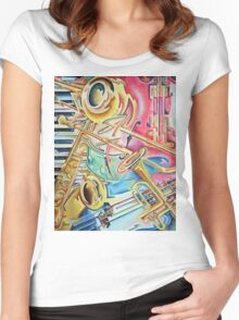 Instrumental Women's Fitted Scoop T-Shirt