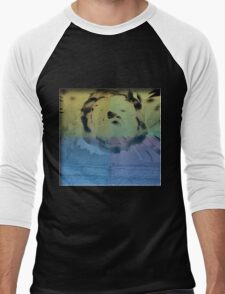 Liquid Bloom Men's Baseball ¾ T-Shirt