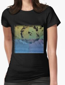 Liquid Bloom Womens Fitted T-Shirt