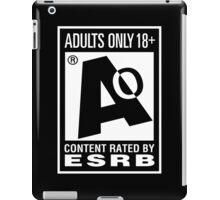 Adults Only! iPad Case/Skin
