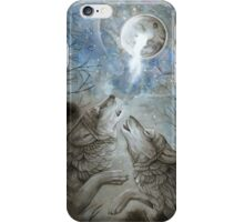 Moon Howl  iPhone Case/Skin