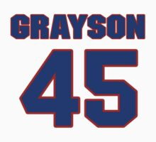 National football player Dave Grayson jersey 45 by imsport