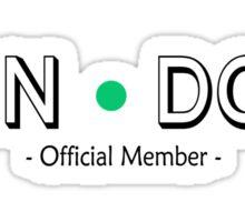 Cabin Pressure - Fan Dot Official Member Sticker