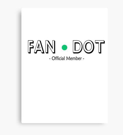 Cabin Pressure - Fan Dot Official Member Canvas Print