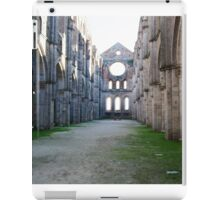 church without roof iPad Case/Skin
