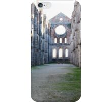 church without roof iPhone Case/Skin
