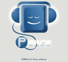 EmotiKey! ... Peace ... just plug in ... in blues by Harry Murray