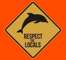 Respect the dolphins Kids Clothes
