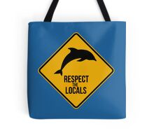 Respect the dolphins Tote Bag