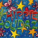 Hippie Holidaze to you! by Studio Burke