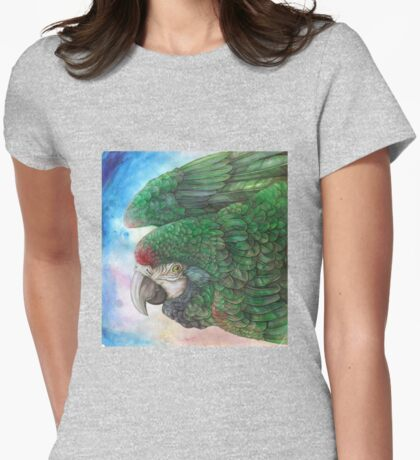 Macaw Womens Fitted T-Shirt