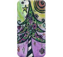 Funky Christmas Tree! iPhone Case/Skin