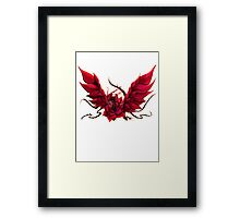 Black Rose Dragon Shirt Framed Print