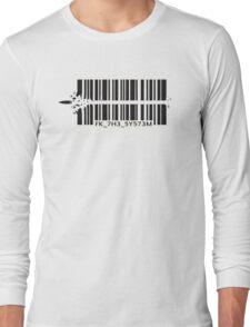 Barcode bullet Long Sleeve T-Shirt