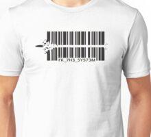 Barcode bullet Unisex T-Shirt