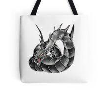 Dark Cyber Dragon Tote Bag