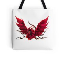 Black Rose Dragon Shirt Tote Bag