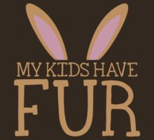 MY KIDS have fur cute bunny ears by jazzydevil