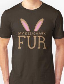 MY KIDS have fur cute bunny ears T-Shirt