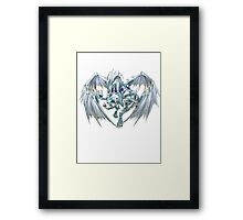 Stardust Dragon Shirt Framed Print