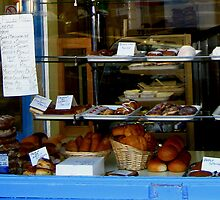 An Edinburgh baker's window by Yonmei